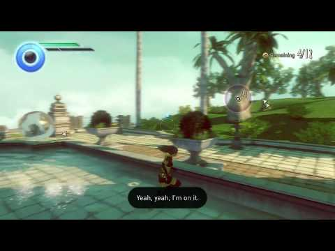 Gravity Rush 2 - gameplay 9 - seperate tables - main mission - MIC on