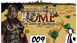 Hegemony Rome #009 - Doppelschlag | The Rise of Caesar German Gameplay