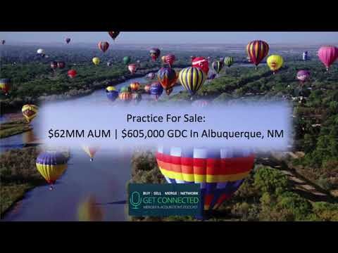 Practice for Sale: $62MM AUM | $605,000 GDC In Albuquerque, NM