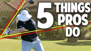5 Things All Good Golfers Do - Step By Step Drills So You Can Too