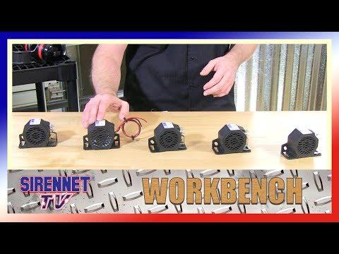 The ECCO 500 Series Backup Alarms