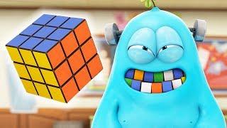 Funny Animated Cartoon | Spookiz Hungry Frankie Eats Rubiks Cube 스푸키즈 | Cartoons for Children