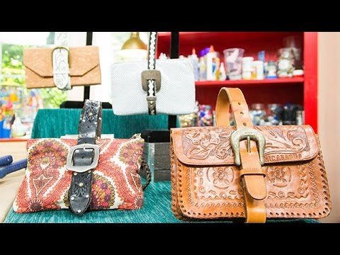 How To – Orly Shani's DIY Belt Strap Purse – Hallmark Channel