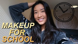 10 MINUTE EVERYDAY MAKEUP | my college makeup routine!!