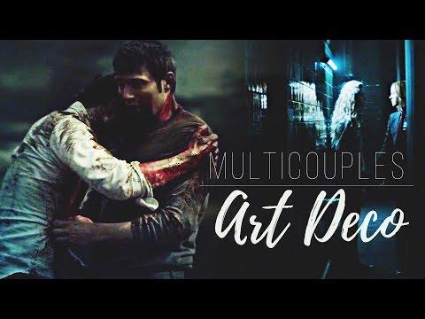 Multicouples | Art Deco (StainedRedFlowers' Wish)