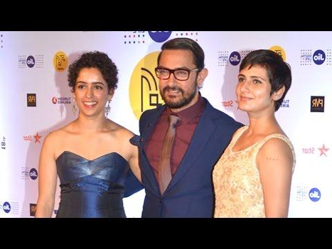 Aamir Khan With His Daughters/Actress In DANGAL Movie  - Geeta & Babita