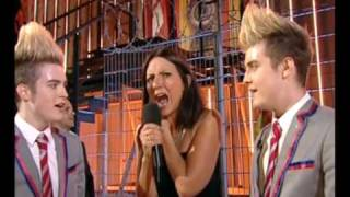 Jedward Preform In The Big Brother House