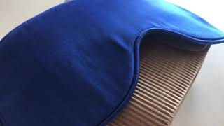 Маска для сна из натурального итальянского шелка