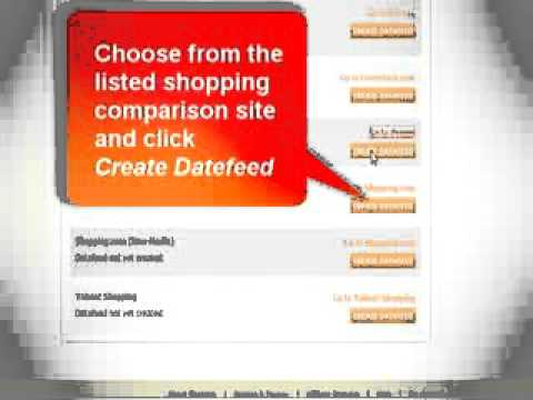 How to Submit to Shopping Comparison Sites (www.shopster.com)