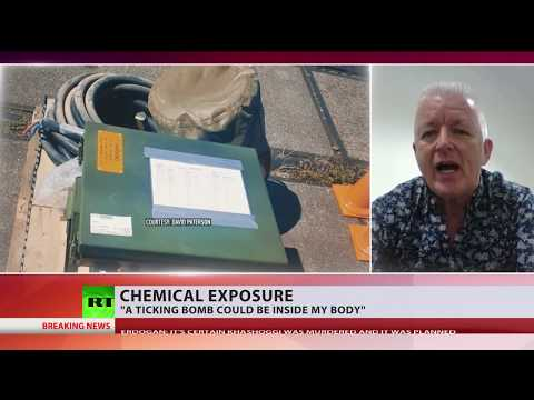 'Ticking bomb inside my body': Man sues US army over chemical exposure