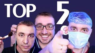 АСМР ТОП 5 видео с канала ASMR Box за 60 минут