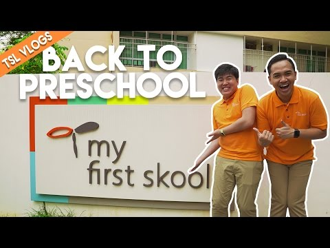 CHRIZI GOES BACK TO PRESCHOOL! | TSL Vlogs