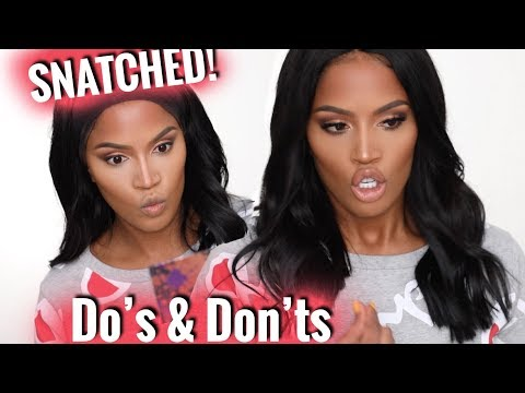 SHE IS SNATCHED! | How to HIGHLIGHT & CONTOUR | MakeupShayla