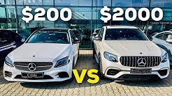 MERCEDES $200 POLAR WHITE VS $2000 DIAMOND WHITE DESIGNO COMPARISION!