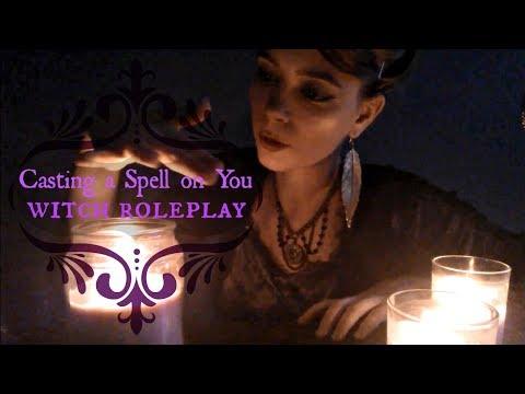Casting a Spell for You | The Witch Saoirse | ASMR Magic RP