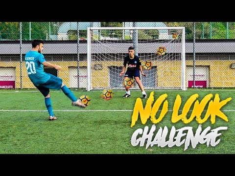 NO LOOK FOOTBALL CHALLENGE!!! w/OHM, TONY TUBO, ENRY LAZZA, T4TINO23
