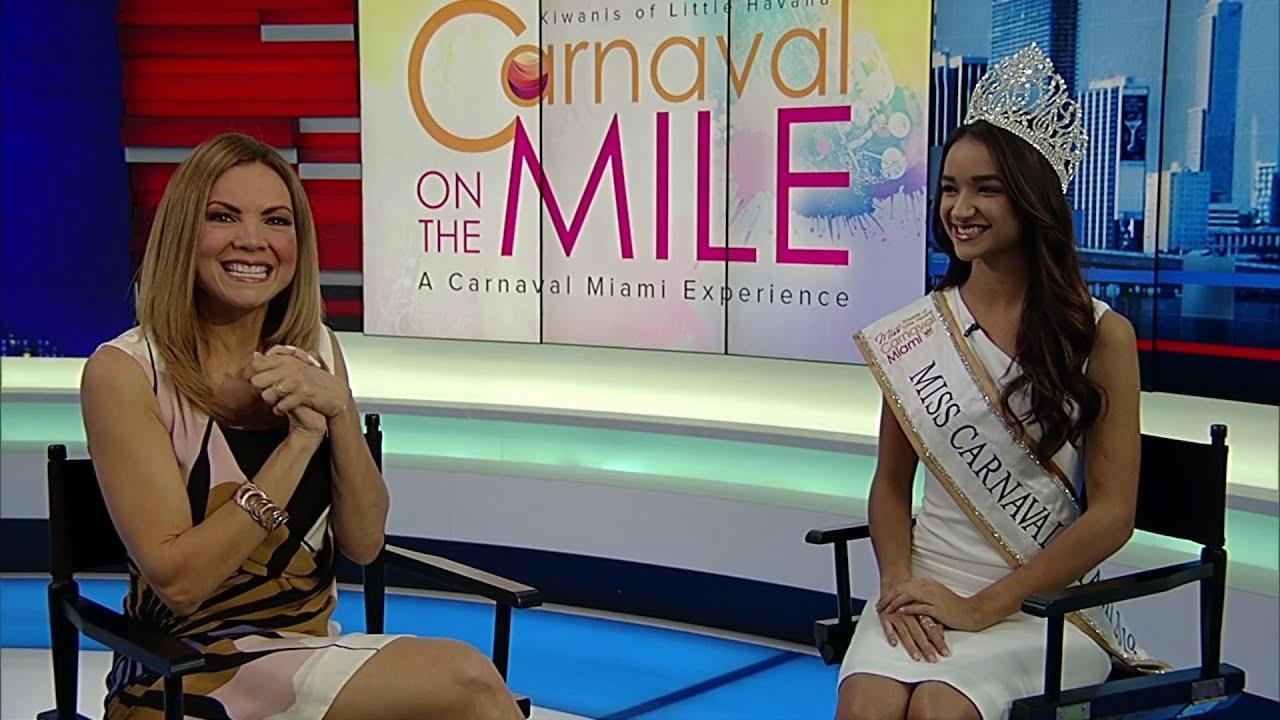 Miss Carnaval Miami 2019 Camila Cuesta previews Carnaval on the Mile