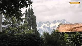 Aosta im Aostatal St. Bernhard Italien Italia