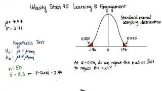 Reject or Fail to Reject - Intro to Inferential Statistics