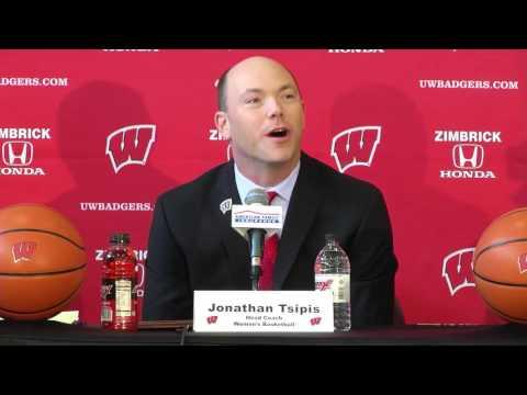 Jonathan Tsipis Introduced as Women's Basketball Coach