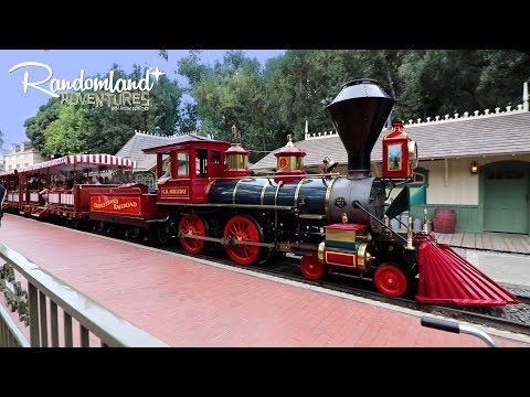 Disneyland is alive again! Trains! Boats! New Scenery and uncovered secrets!!