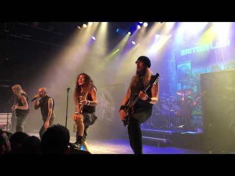 Steve Harris British Lion  Bible black  live in Switzerland @ Lausanne, Les Docks 13.11.2016