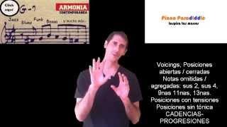 Clases de Armonía Contemporánea - Video tutoriales + PDF