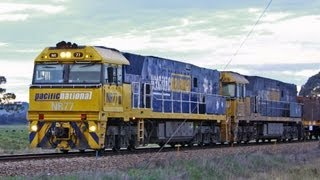 Freight Trains at Cootamundra - Australian Trains, New South Wales