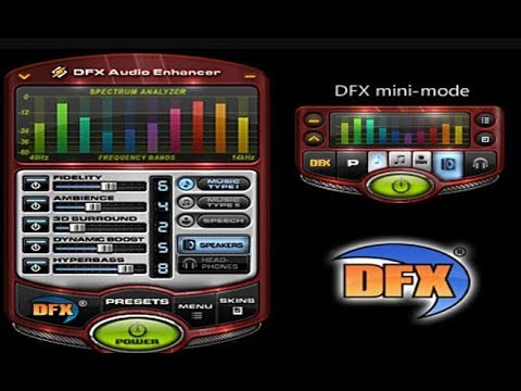 dfx audio enhancer free download for windows 10