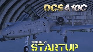 DCS A-10C Tutorial 1 : Startup