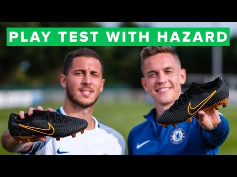 NIKE FLYKNIT ULTRA PLAY TEST with EDEN HAZARD