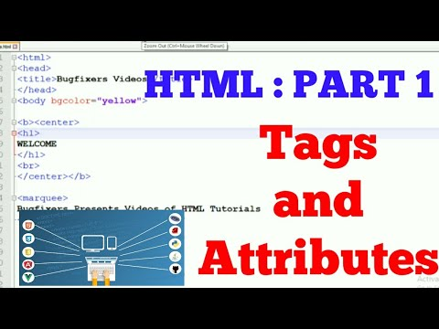 HTML Introduction : Part 1 | Live Demo and Free Notes | thumbnail