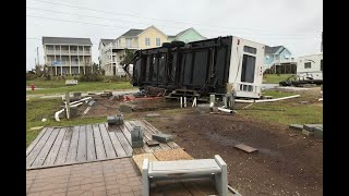 Destruction in Atlantic Beach after Florence