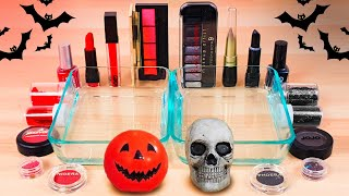 Red vs Black *Halloween Edition* - Mixing Makeup Eyeshadow Into Slime #101 Satisfying Slime Video!