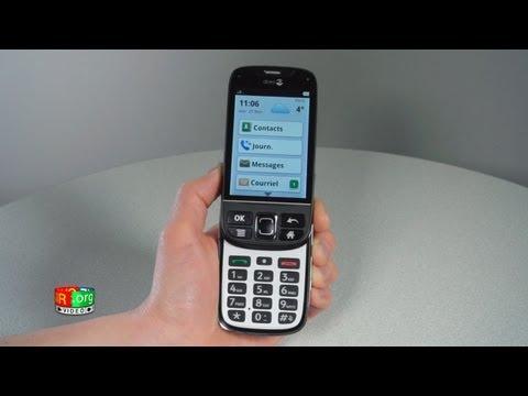 Doro Phoneeasy 740 - Prise en main