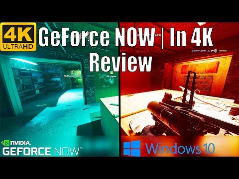 [4K] Nvidia GeForce NOW Tech Review | Rainbow 6 Siege Runs At 200+ FPS At Max Settings | First Look