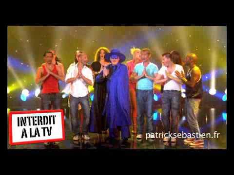 Patrick Sebastien - Le chanteur masqué (clip officiel)