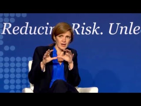 Armchair Discussion with Ambassador Samantha Power