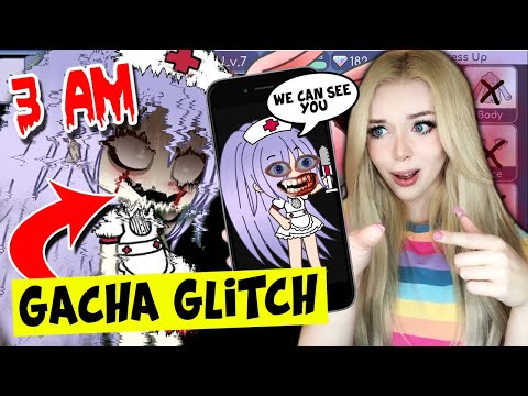 DO NOT PLAY GACHA LIFE AT 3AM!! Testing Scary CREEPYPASTA Gacha Life Glitches..(*THEY WORKED*)