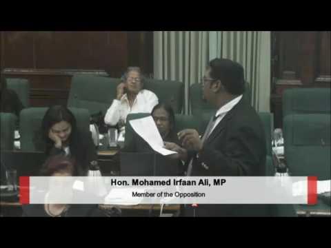 Hon. Mohamed I. Alli's Presentation on GPL Motion