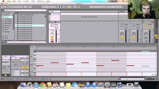 How To Make A Simple Melody and Bassline In Ableton Live 9