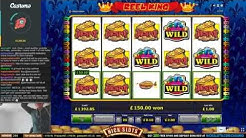 HUGE WIN on Reel King Slot - £2 Bet