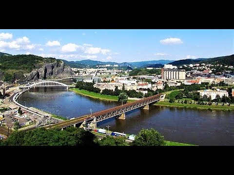 Ústí nad Labem from above, Czech Republic from Travel with Iva Jasperson