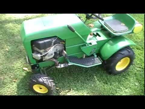 John Deere 100 20 Hp Modified Lawn Tractor And Pulley Swap