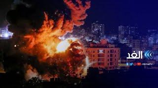 مراسلتنا: لأول مرة نسمع انفجارات بهذه القوة في قصف الاحتلال لقطاع غزة