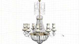 3D модели Светильники классические для PRO100