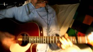 Ruby Baby ~ Dion & The Belmonts ~ Acoustic Cover w/ Drumpattern, E-Bass & Bluesharp