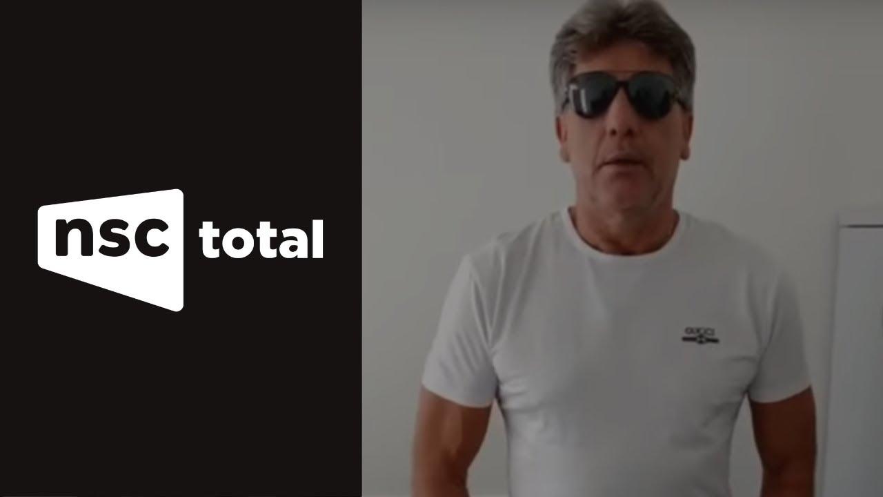 Renato Gaúcho manda recado para catarinense internado com coronavírus