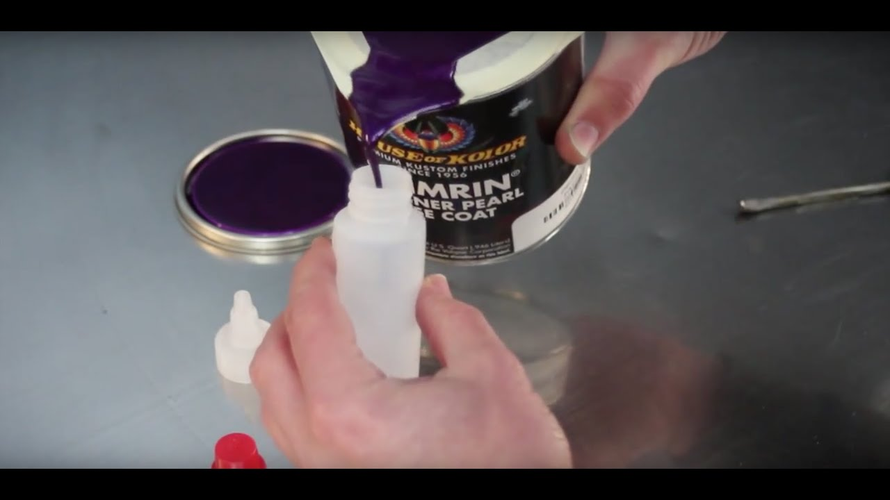 How To Get Paint Out Of Can Without Spilling