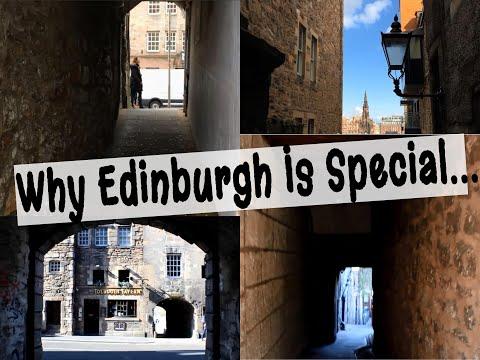 Edinburgh: The Royal Mile CLOSES Glimpse ~ 2019